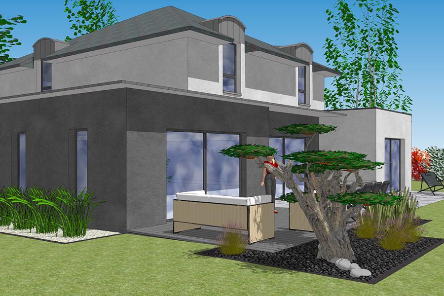 Créa Bati Jardin - Plan 3d